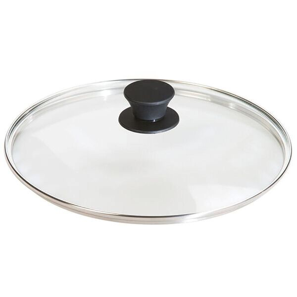 """Lodge Cast Iron 10.25"""" Tempered Glass Lid"""