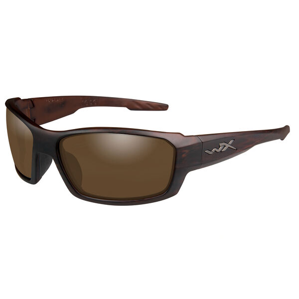 Wiley X WX Rebel Sunglasses, Matte Tortoise Frame/Bronze Lens