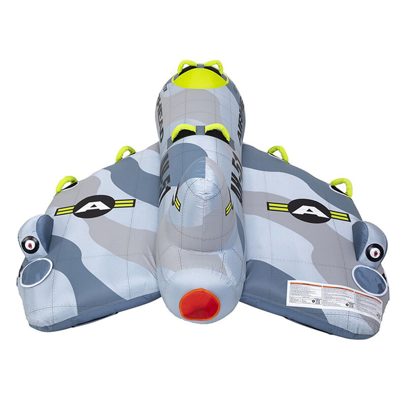 Airhead Jet Fighter 4-Person Towable Tube image number 14