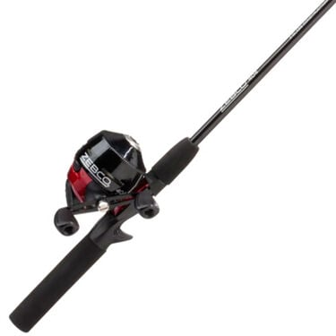 """Zebco 404 5'6"""" Spincast Rod And Reel Combo With Tackle Pack"""