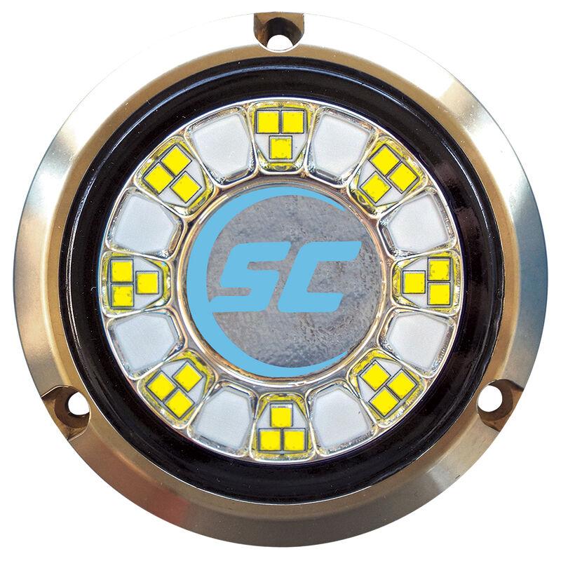 Shadow-Caster Single-Color Bronze Underwater Light – 24 LEDs, Bimini Blue image number 1