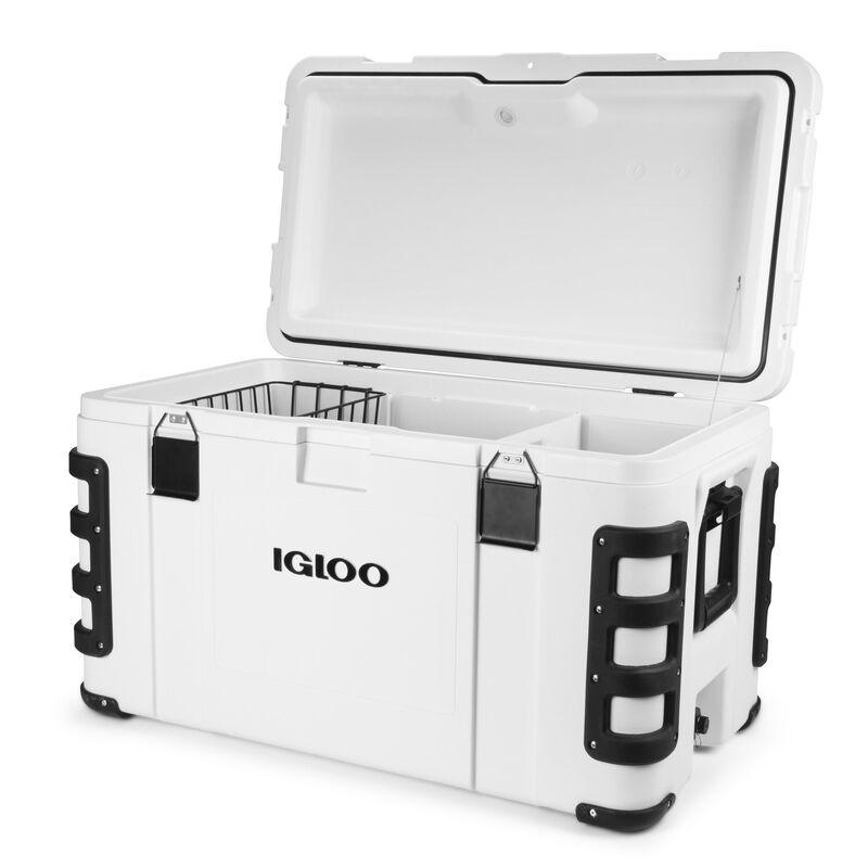 Igloo Leeward 124-Quart Cooler, White image number 2