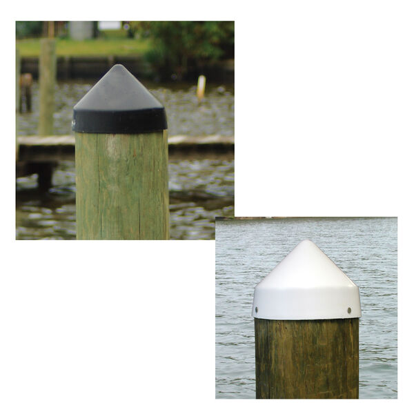 """Dockmate Conehead Cap for Round Pilings, 10"""" Dia."""