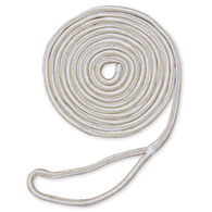 "Dockmate Premium Double Braid Nylon Dock Line, 1/2"" x 25'"