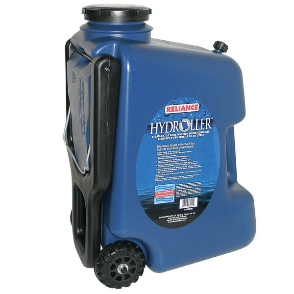 Reliance Hydroller Rolling Water Container, 8-Gallon/30-Liter