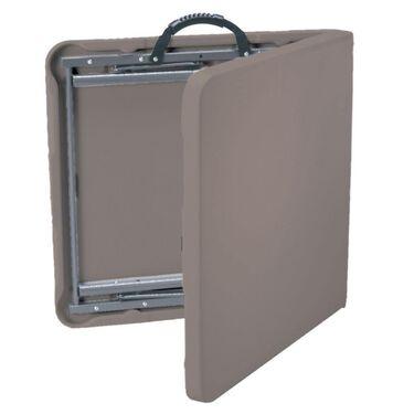 Clay Fold 'N Half Table, 4'