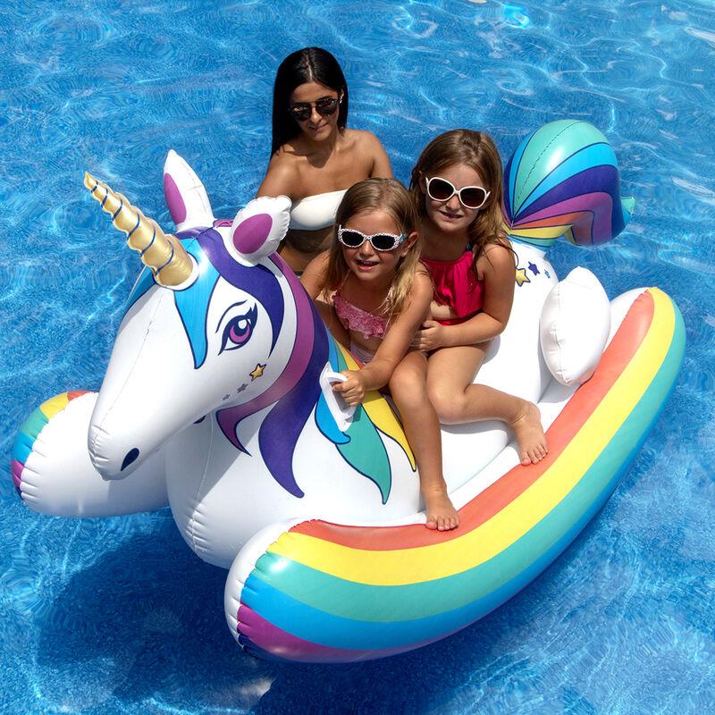 Swimline Unicorn Rocker Float image number 1