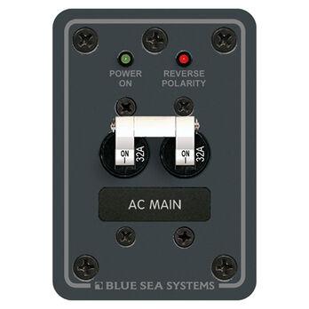 Blue Sea 230V AC Main Circuit Breaker Panel, 32A
