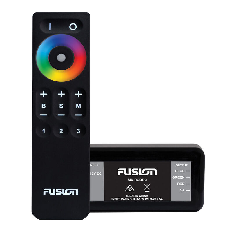 FUSION MS-RGBRC RGB Lighting Control Module w/Wireless Remote Control image number 1