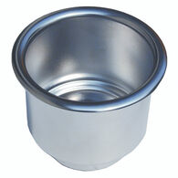 Stainless Steel Drink Holder With Drain Hole 3-1/2''