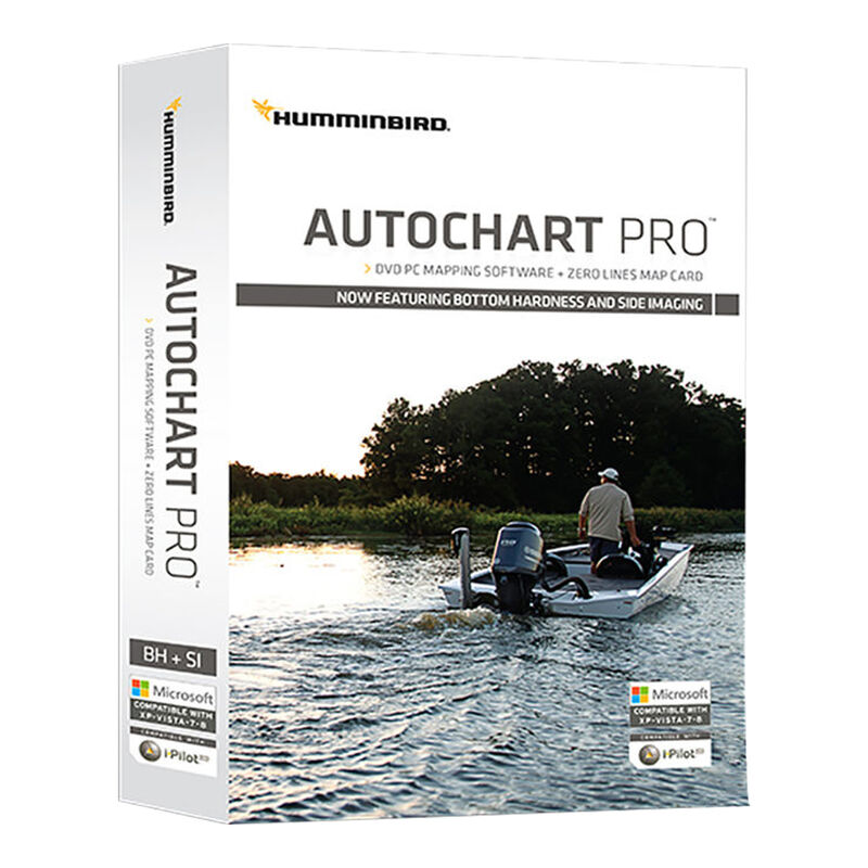 Humminbird AutoChart PRO DVD PC Mapping Software For North America image number 1