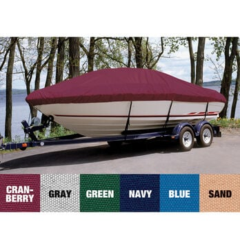 Custom Fit Ultima Solution Dyed Polyester Boat Cover For BAYLINER 175 BOW RIDER