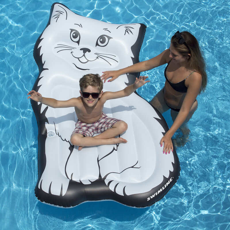 Swimline Purrfect Kitty Float image number 4