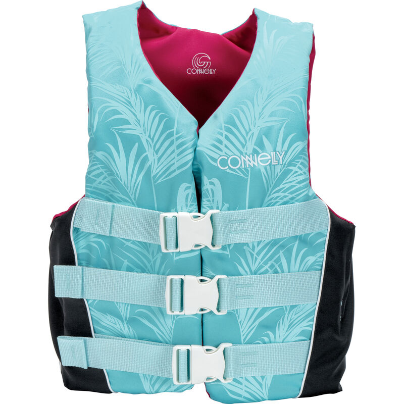 Connelly Women's Tunnel 3-Belt Nylon Life Jacket image number 1