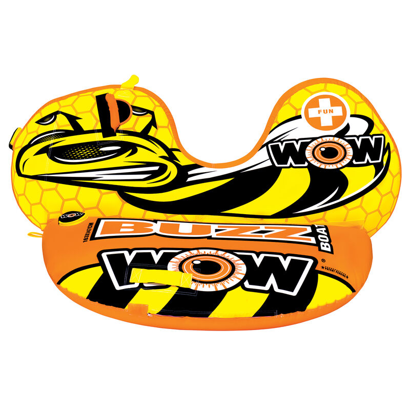 WOW Buzz Boat One-Person Towable Tube image number 1