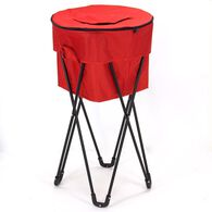 Standing Ice Cooler with Carry Bag