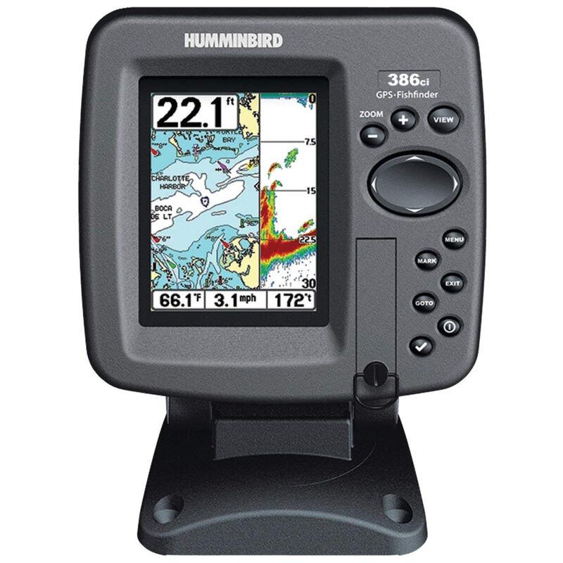 Humminbird 386ci Fishfinder Chartplotter Combos image number 1