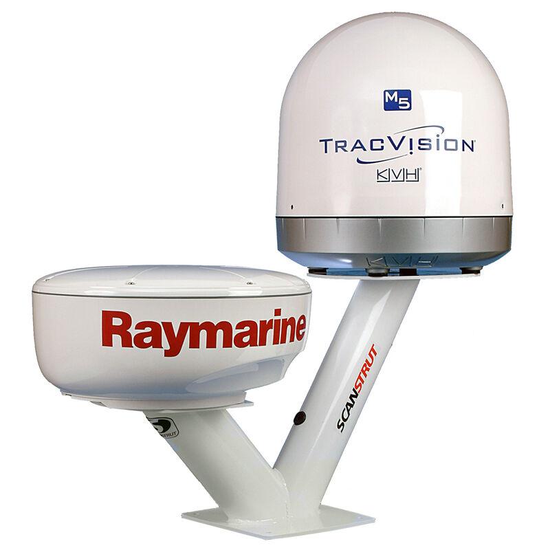 Satcom Dual PowerTower for Radomes and 40cm Satcom Antennas image number 1