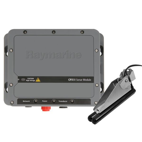 Raymarine CP200 CHIRP SideVision Sonar Module With CPT-220 TM Transducer