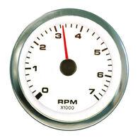 "Sierra White Premier Pro 3"" Tachometer"