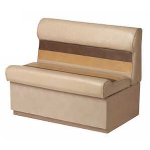 """Toonmate Deluxe 36"""" Lounge Seat - TOP ONLY - Sand/Chestnut/Gold"""
