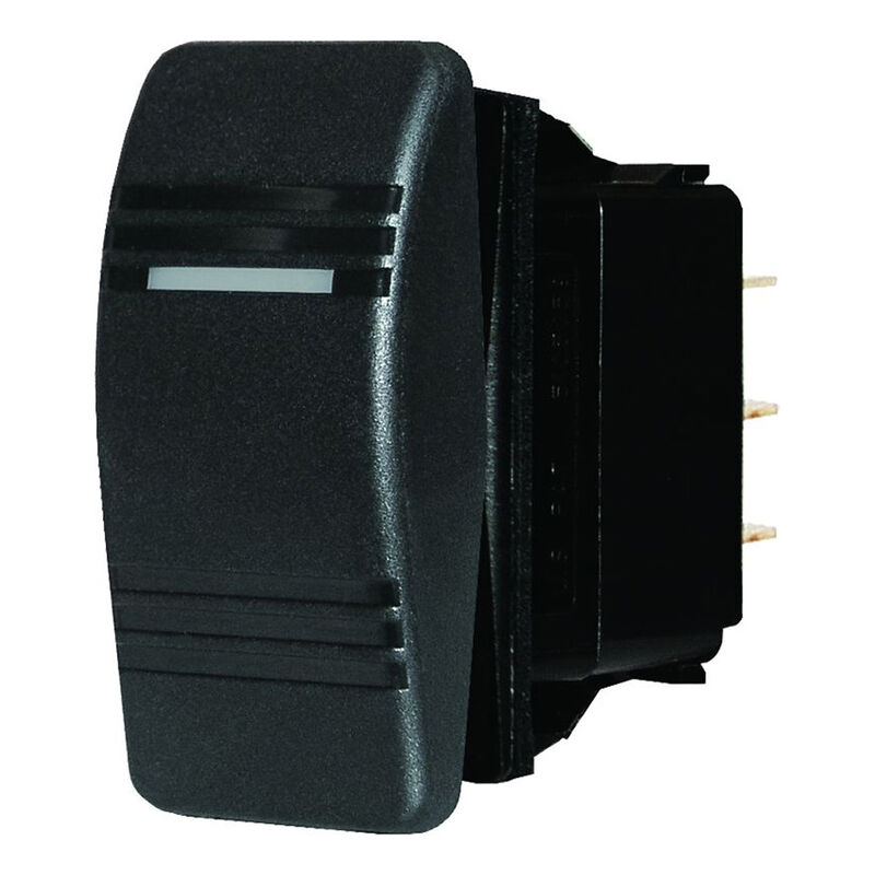 Blue Sea Systems Contura III Switch, DPST OFF-(ON) image number 1