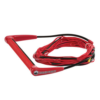 Liquid Force Comp Rope And Handle Combo, Red