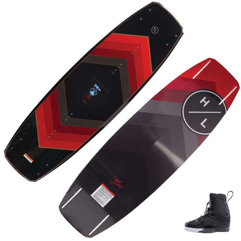 Hyperlite Murray Wakeboard With Team X Bindings image number 1