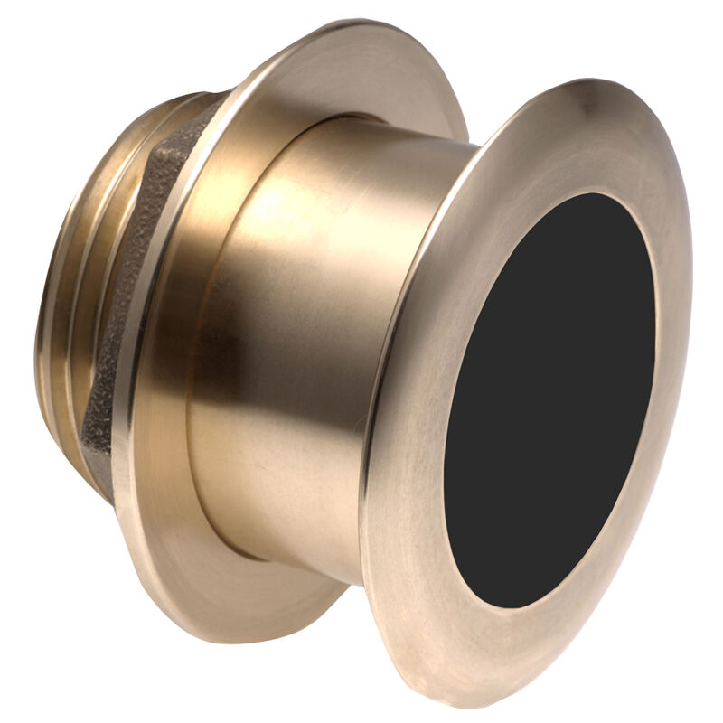 Raymarine B175H-W Bronze 1kW Depth/Temp Thru-Hull Transducer - 20° Element image number 1
