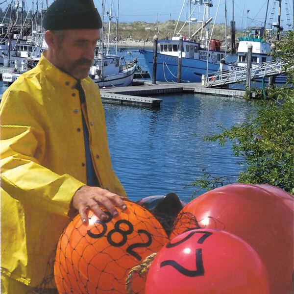 "Commercial Fishing Net Buoy, Neon Green (12"" x 16"")"