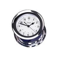 Chrome Plated Atlantis Quartz Clock