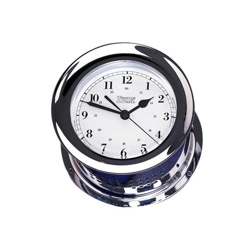 Chrome Plated Atlantis Quartz Clock image number 1