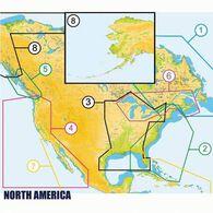 C-MAP MAX Wide Map, Alaska