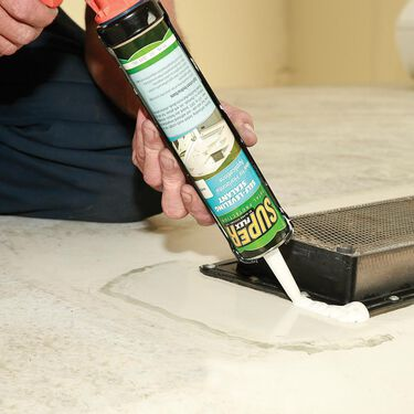 Super Flex Total Protection Self-Leveling Sealant, 11 oz. tube - White