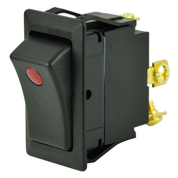 BEP SPST Rocker Switch, Off/On, One LED