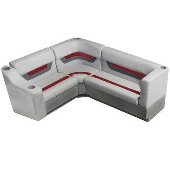 "Toonmate Designer Pontoon Furniture 61"" Rear Seat Package"
