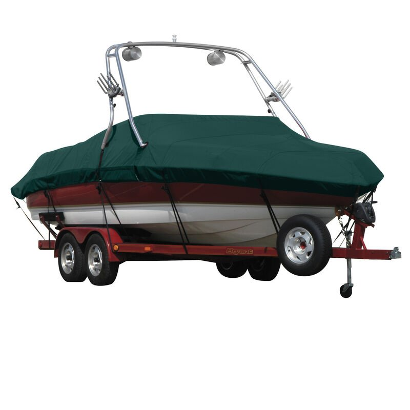Exact Fit Covermate Sunbrella Boat Cover For MALIBU SUNSETTER 21 5 XTi w/TITAN 3 TOWER Doesn t COVER PLATFORM image number 9