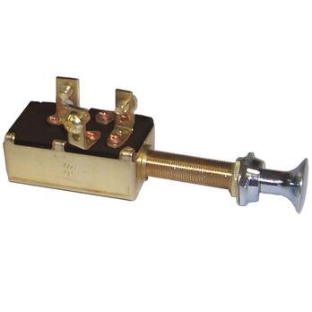 Sierra SPDT Off/On/On Push/Pull Switch, Sierra Part #MP39640