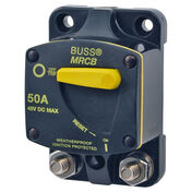 Blue Sea 187-Series Thermal Circuit Breaker, Surface-Mount, 80A