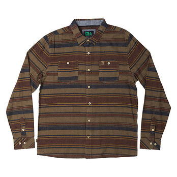 HippyTree Men's Ashbury Flannel Long-Sleeve Shirt