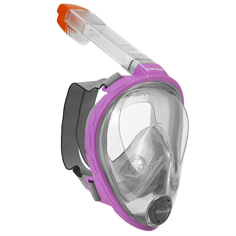 Head Sea Vu Dry Full-Face Snorkeling Mask image number 2