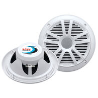 "Boss Marine MR6W 6.5"" Dual Cone Speakers, pair"