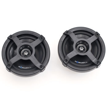 """Roswell Classic In-Boat 6.5"""" Coaxial Speakers, Black"""