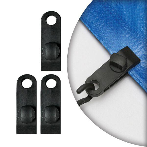 Reinforced Nylon Clips, 4 pack