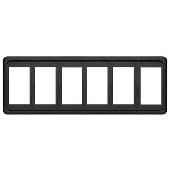 Blue Sea Systems Contura Switch Mounting Panel, 6 Positions