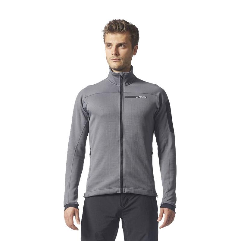 Adidas Men's Terrex Stockhorn Fleece Jacket image number 6