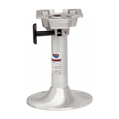 """Attwood Swivl-Eze 13"""" Fixed Bell Pedestal With Seat Mount"""