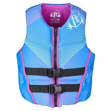 Full Throttle Women's Hinged Rapid-Dry Flex-Back Life Vest