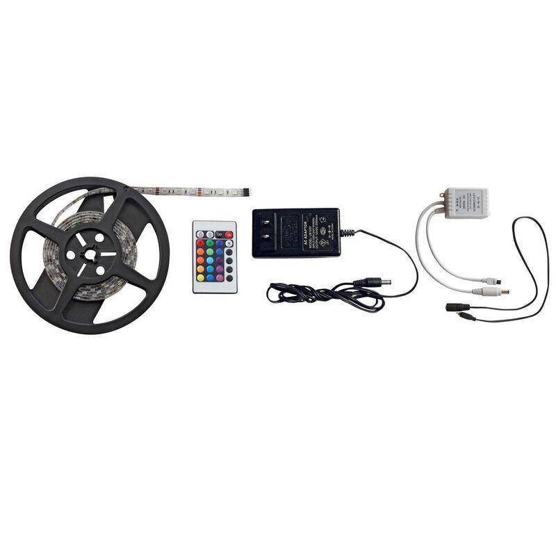 Multicolor LED Light Strip Kit, 6.5' image number 1