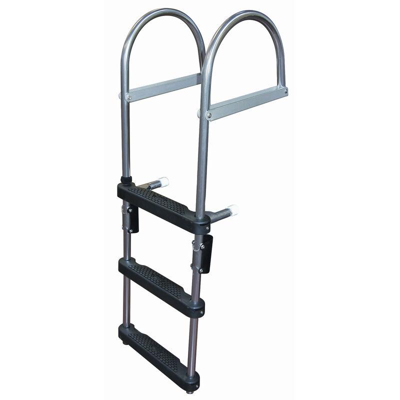 Dockmate Pontoon Transom Boarding Ladder, 3-Step image number 1